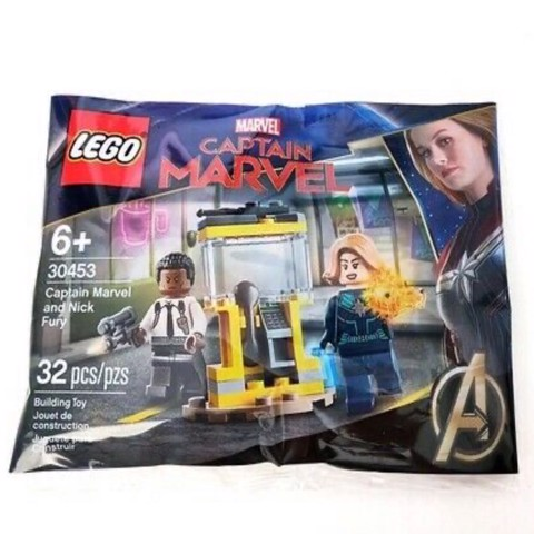LEGO 30453 Captain Marvel and Nick Fury Polybag