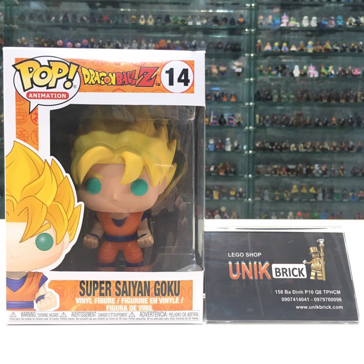 FUNKO POP Dragon Ball 14 Super Saiyan Goku