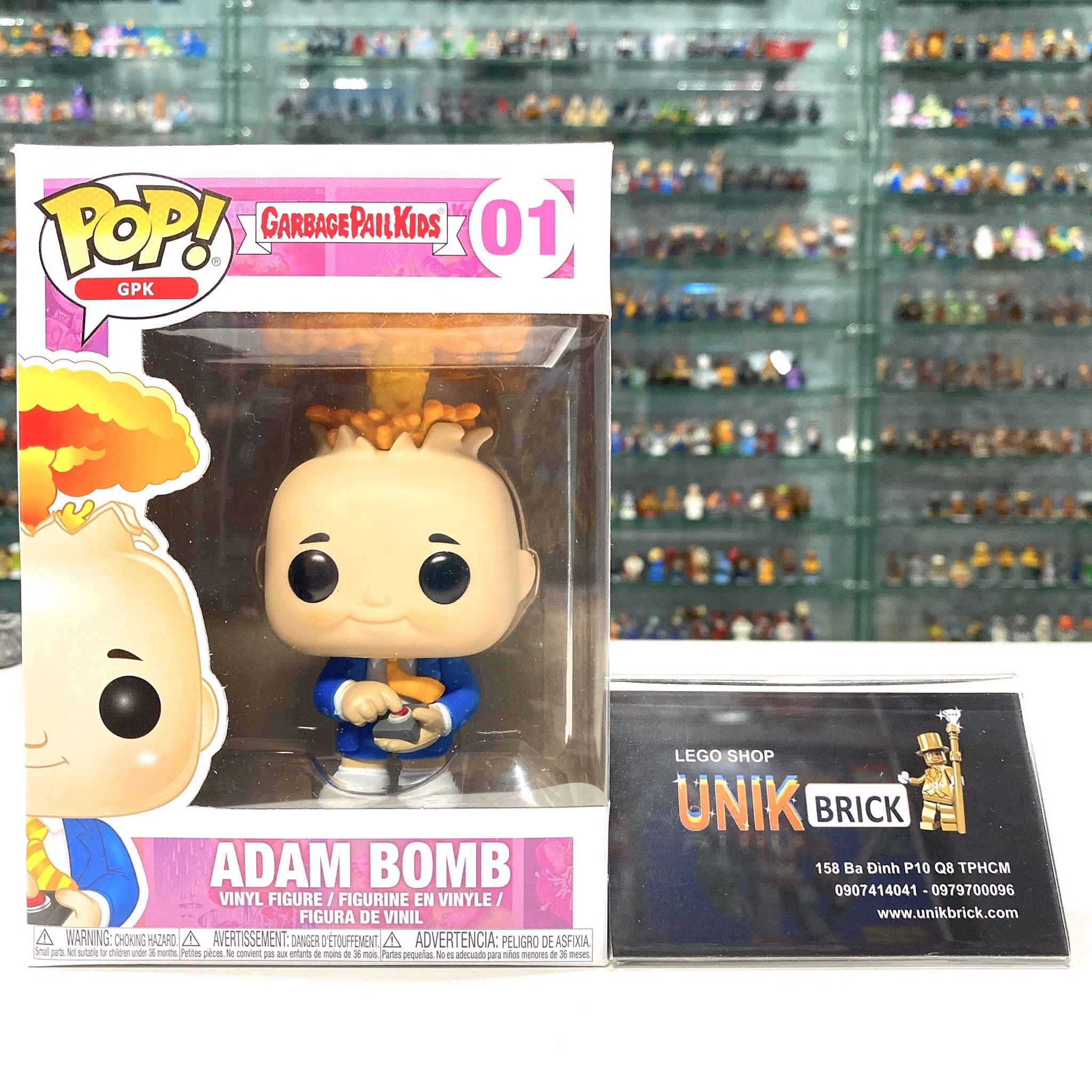 FUNKO POP Garbage Pail Kids 01 Adam Bomb
