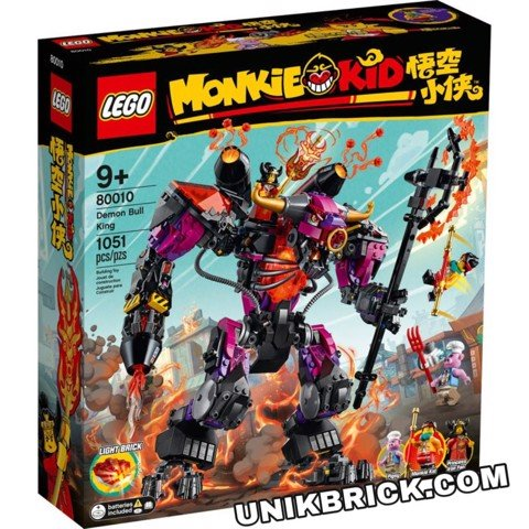 [HÀNG ĐẶT/ ORDER] LEGO Monkie Kid 80010 Demon Bull King