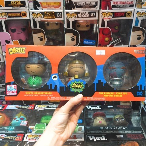 [CÓ SẴN] FUNKO DORBZ 3 Pack Riddler, King Tut & Mr Freeze