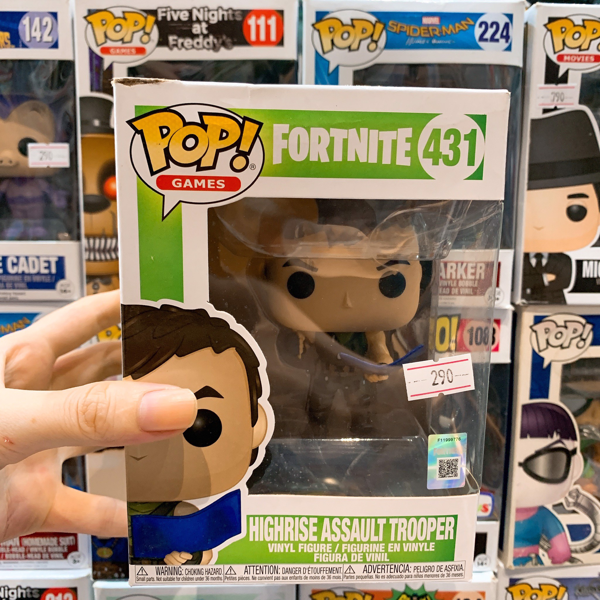 [CÓ SẴN] FUNKO POP Fortnite 431 Highrise Asault Trooper