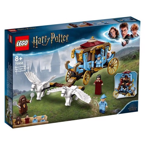 [CÓ HÀNG] LEGO Harry Potter 75958 Beauxbatons' Carriage Arrival at Hogwarts