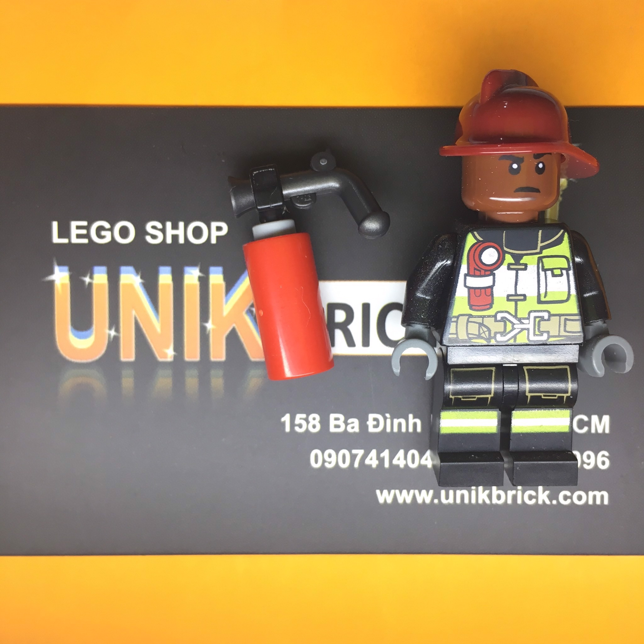 LEGO City Fire Fighter No 8