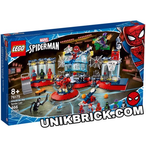 [HÀNG ĐẶT/ ORDER] LEGO Marvel 76175 Attack on the Spider Lair