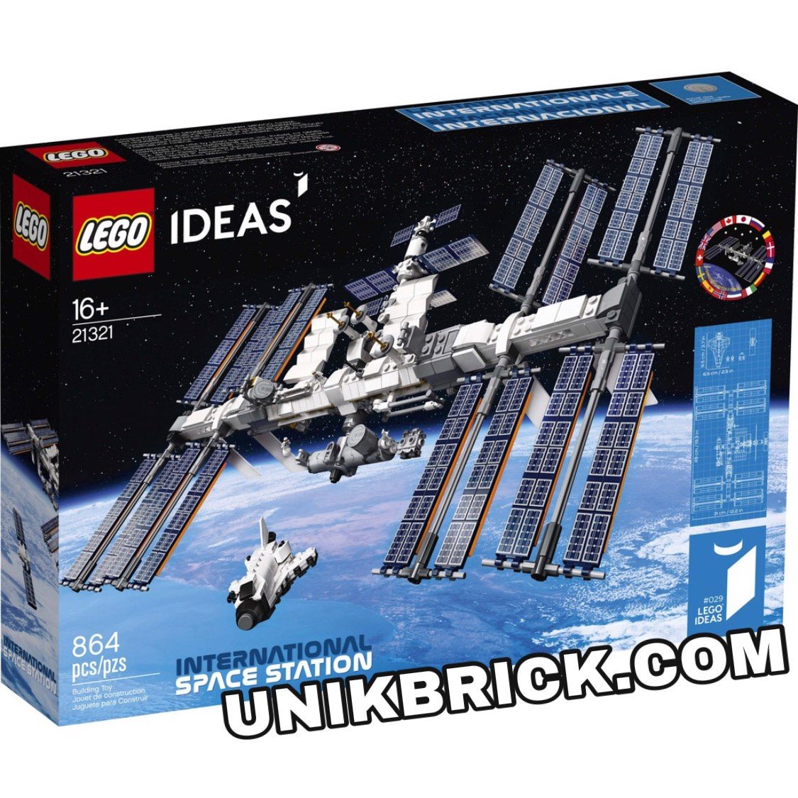 [CÓ HÀNG] LEGO IDEAS 21321 International Space Station