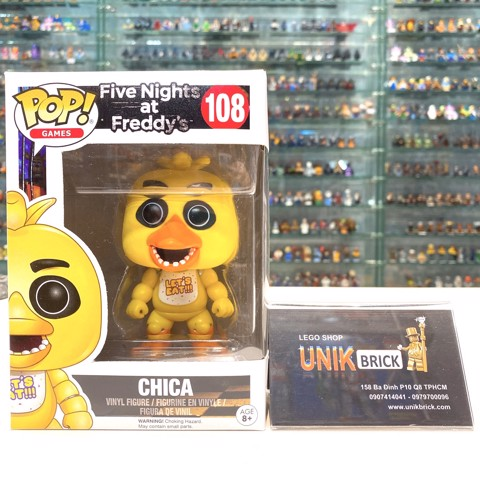 FUNKO POP Five Nights at Freddy's 108 Chica