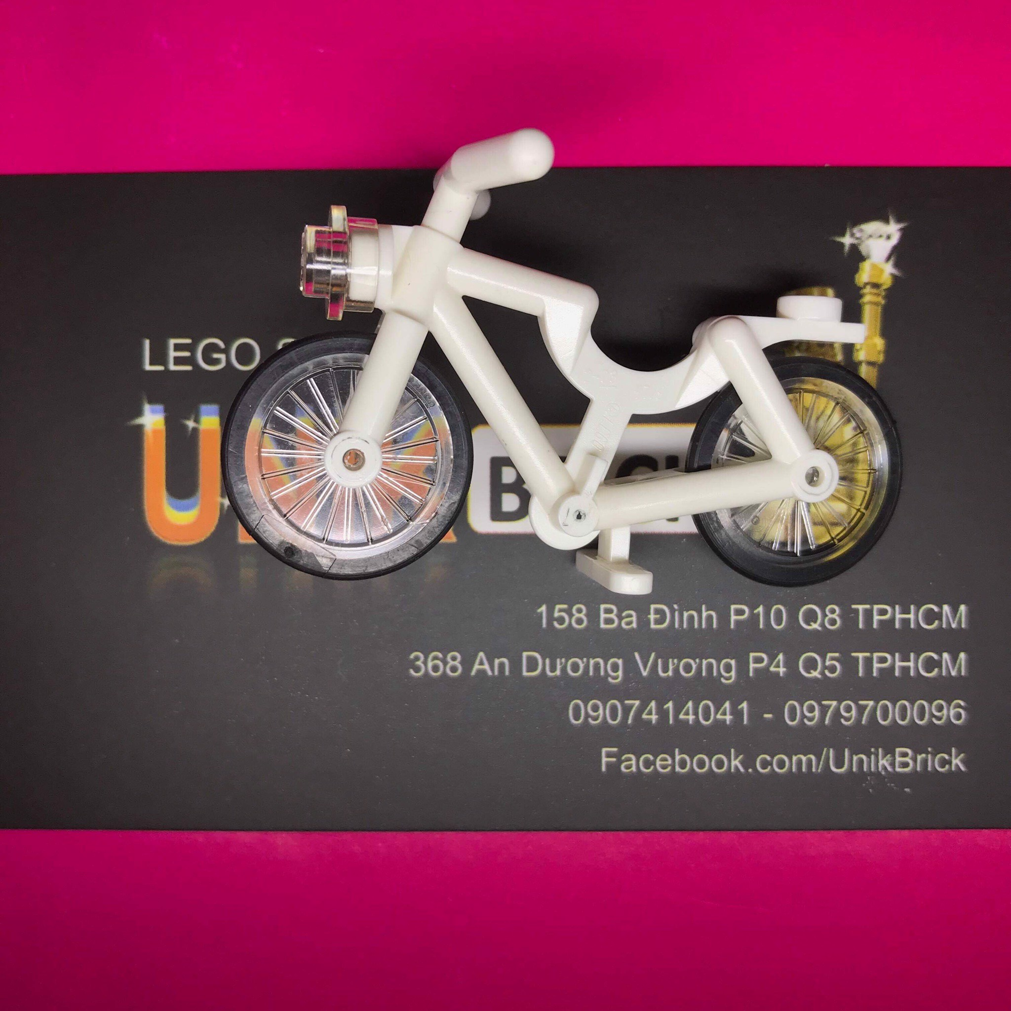 LEGO City White Bike
