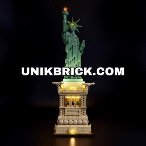 [HÀNG ĐẶT/ ORDER] Briksmax Light Kit For Statue of Liberty 21042