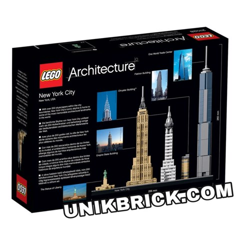 [CÓ HÀNG] LEGO Architecture 21028 New York City