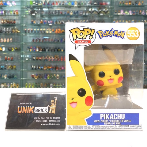 FUNKO POP Pokemon 553 Pikachu