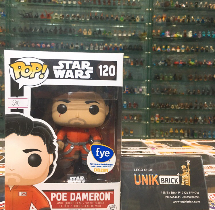 FUNKO POP Star Wars 120 Poe Dameron