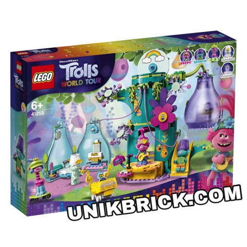 [HÀNG ĐẶT/ ORDER] LEGO Trolls World Tour 41255 Pop Village Celebration