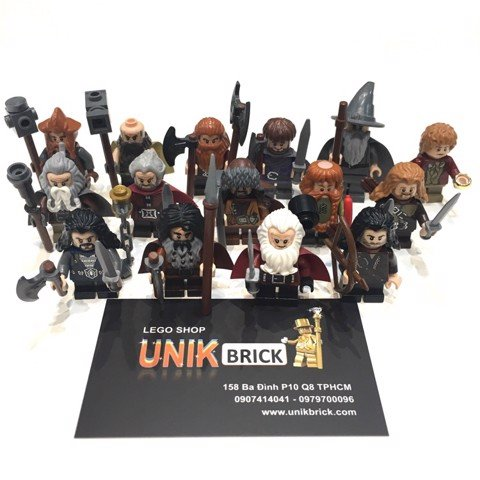 [CÓ HÀNG] LEGO The Hobbit LOTR Thorin and Company