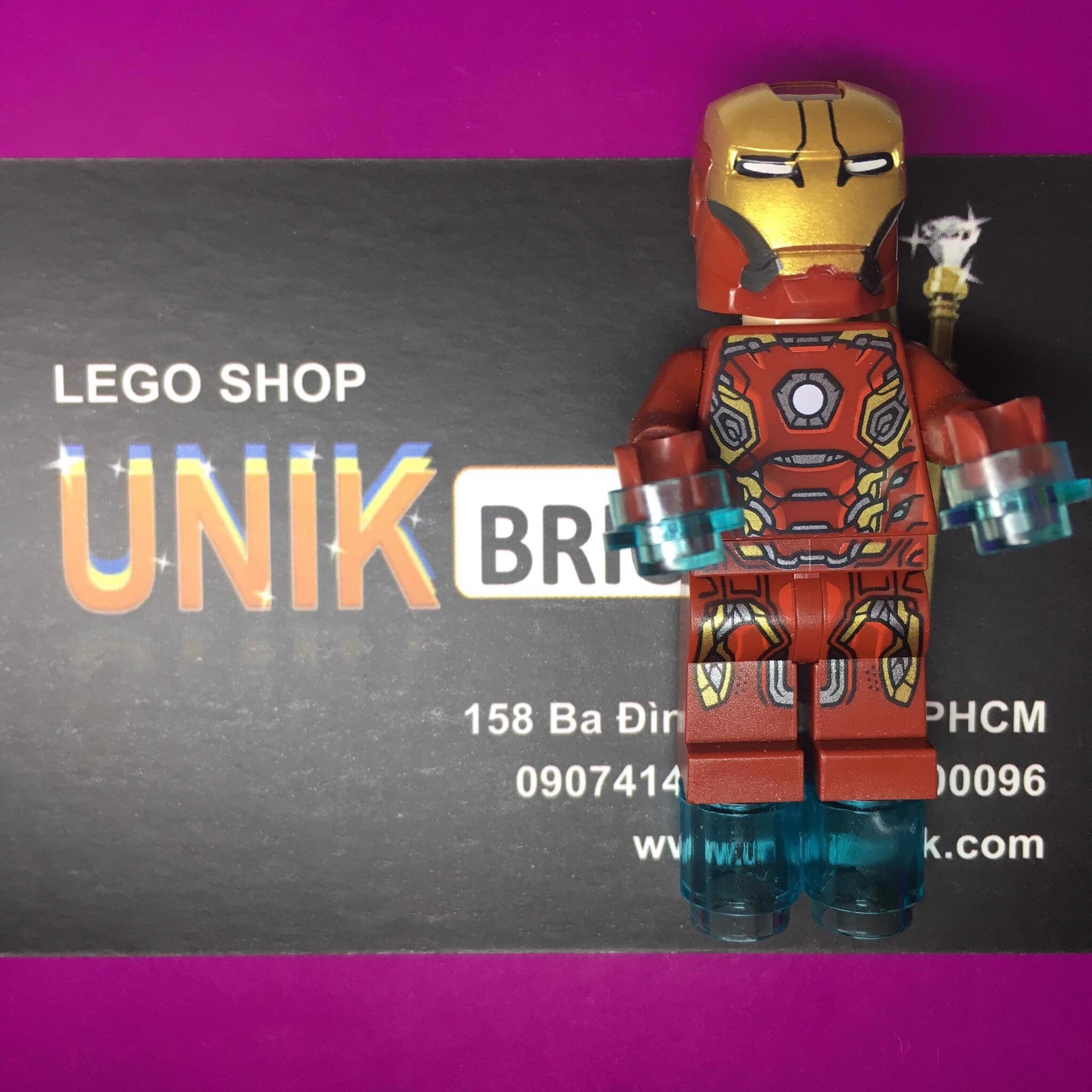 LEGO Marvel Iron Man Mark 45