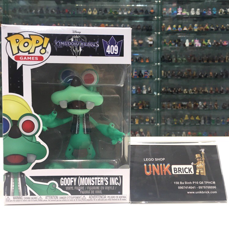 FUNKO POP Kingdom Hearts 409 Goofy