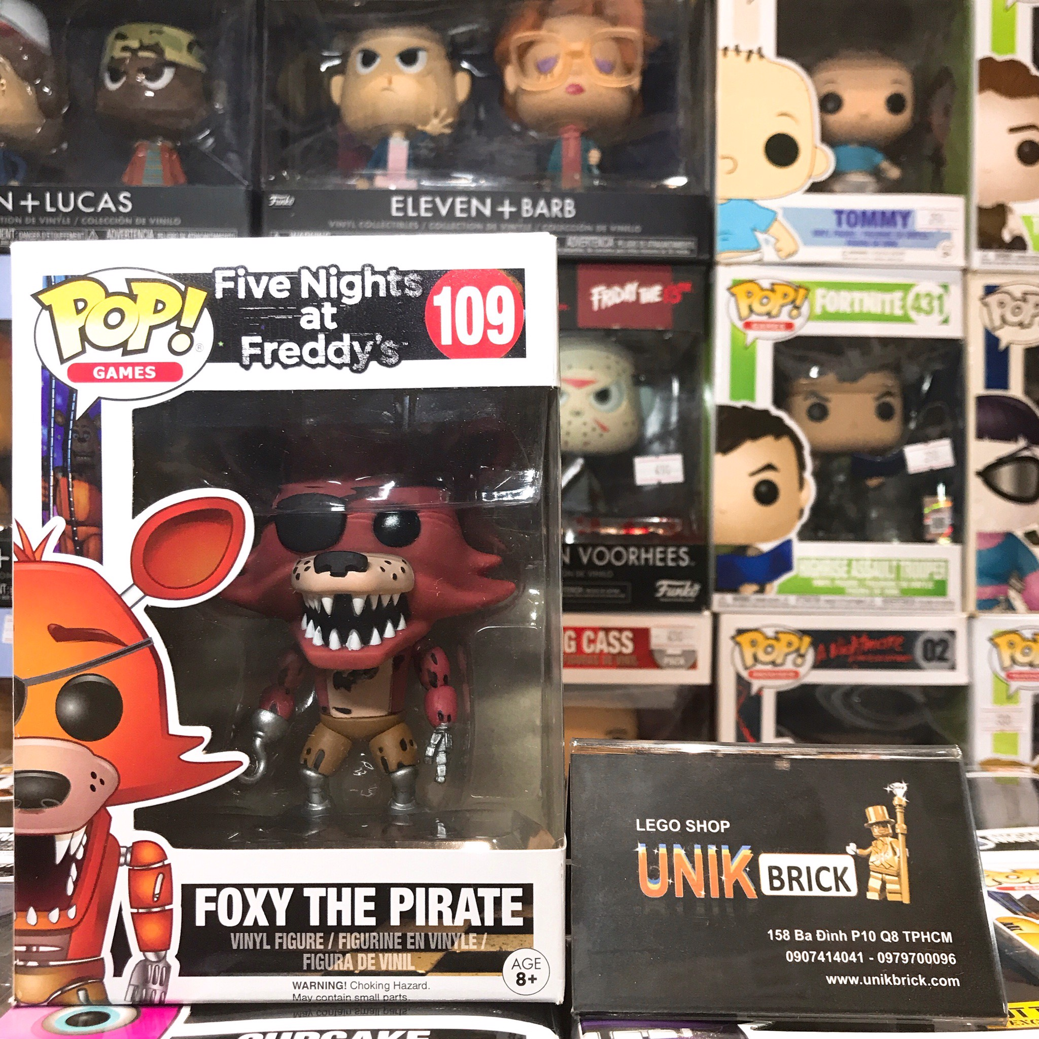 FUNKO POP Five Nights at Freddy's 109 Foxy The Pirate