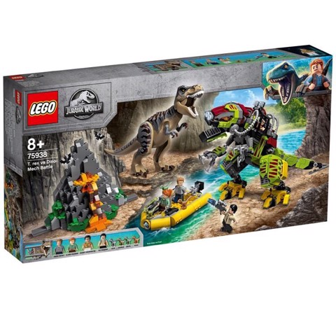 [HÀNG ĐẶT/ ORDER] LEGO Jurassic World 75938 T Rex vs Dino Mech Battle