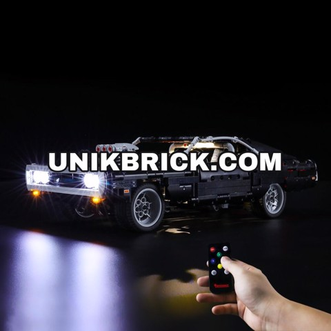 [HÀNG ĐẶT/ ORDER] Briksmax Light Kit For Lego Dom's Dodge Charger 42111
