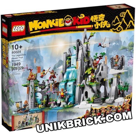 [CÓ HÀNG] LEGO Monkie Kid 80024 The Legendary Flower Fruit Mountain