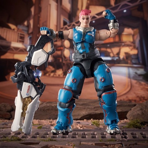 [CÓ HÀNG] Hasbro Overwatch Ultimates Zarya 6 Inch Action Figure