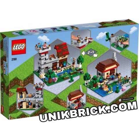 [HÀNG ĐẶT/ ORDER] LEGO Minecraft 21161 The Crafting Box 3.0