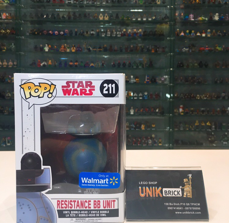 FUNKO POP Star Wars 211 Resistance BB Unit