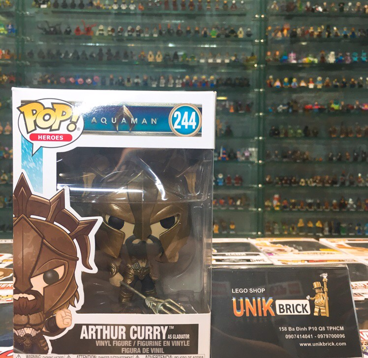 FUNKO POP Aquaman 244 Arthur Curry