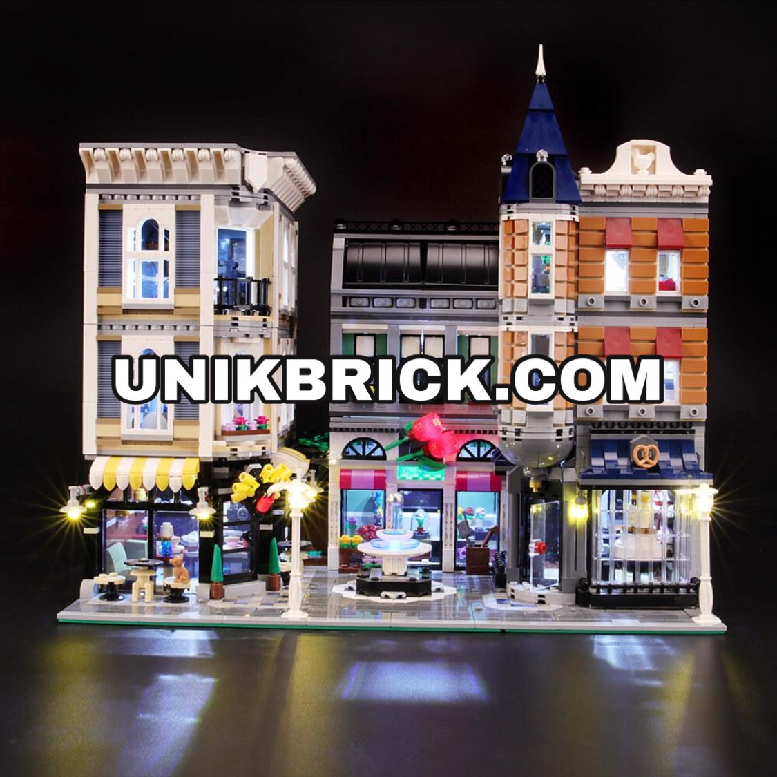 [HÀNG ĐẶT/ ORDER] Briksmax Light Kit For Lego The Assembly Square 10255