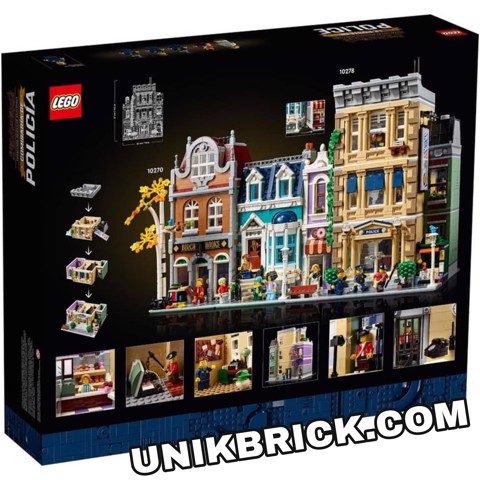 [HÀNG ĐẶT/ ORDER] LEGO Creator 10278 Police Station