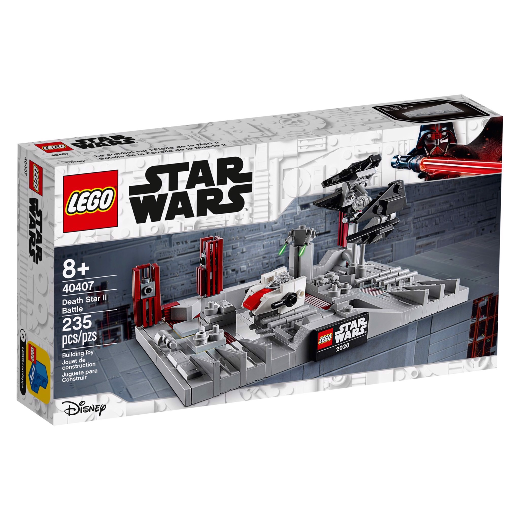 [CÓ HÀNG] LEGO Star Wars 40407 Death Star II Battle