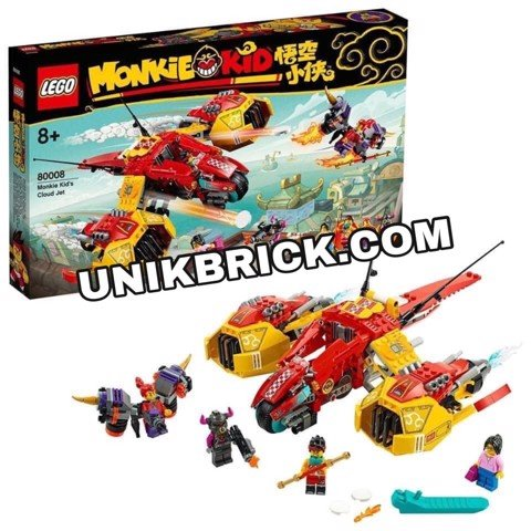 [HÀNG ĐẶT/ ORDER] LEGO Monkie Kid 80008 Monkie Kid's Cloud Jet