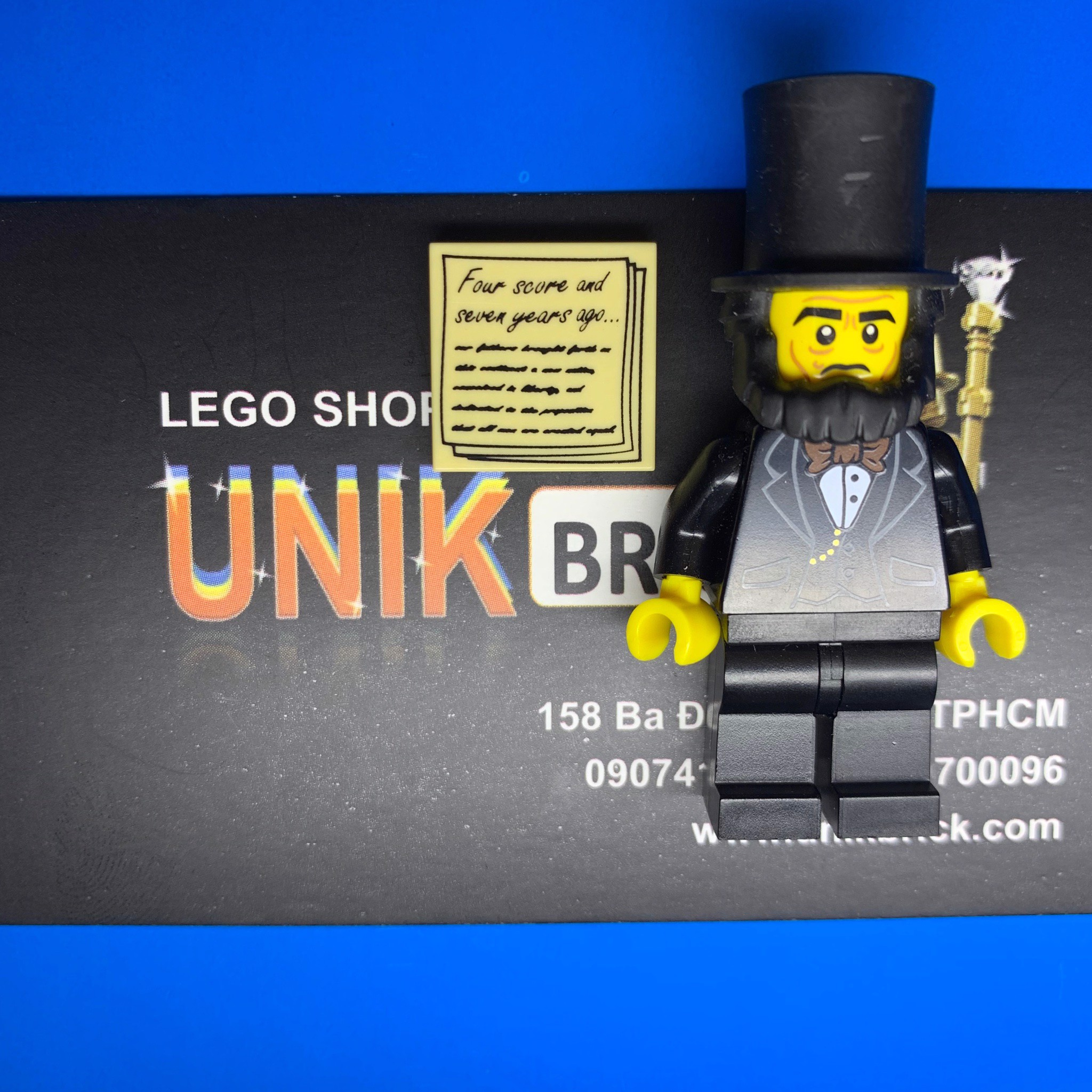Lego Abraham Lincoln trong The Lego Movie Series 1