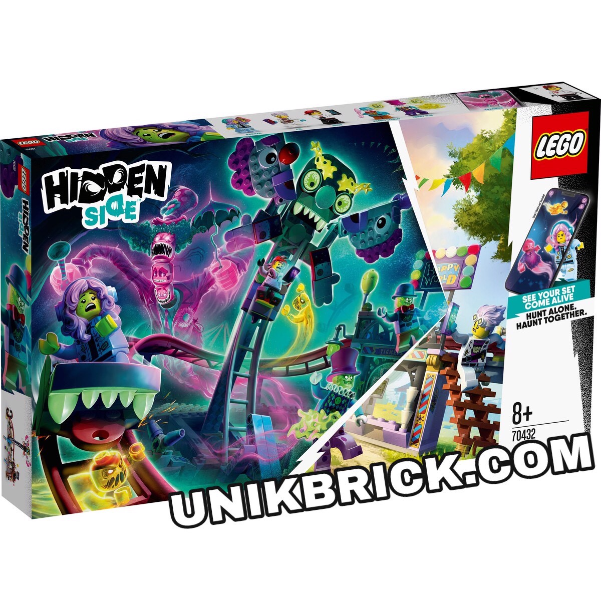 [HÀNG ĐẶT/ ORDER] LEGO Hidden Side 70432 Haunted Fairground
