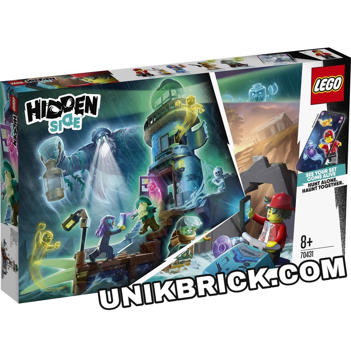[HÀNG ĐẶT/ ORDER] LEGO Hidden Side 70431 The Lighthouse of Darkness
