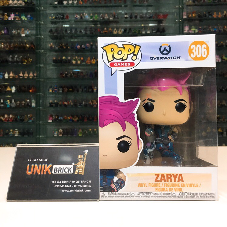 FUNKO POP Overwatch 306 Zarya