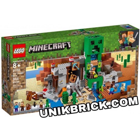 [HÀNG ĐẶT/ ORDER] LEGO Minecraft 21155 The Creeper Mine