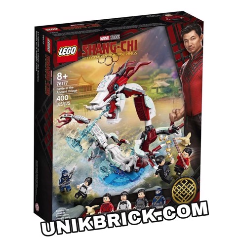[HÀNG ĐẶT/ ORDER] LEGO Marvel Shang Chi 76177 Battle at the Ancient Village