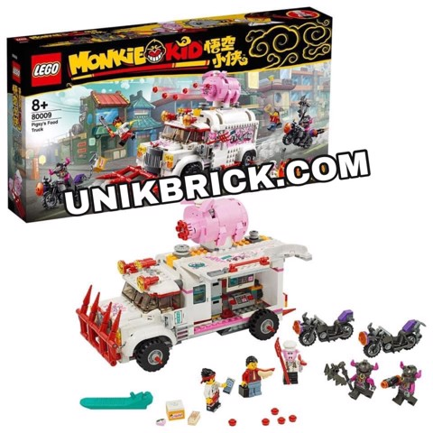 [HÀNG ĐẶT/ ORDER] LEGO Monkie Kid 80009 Pigsy's Food Truck