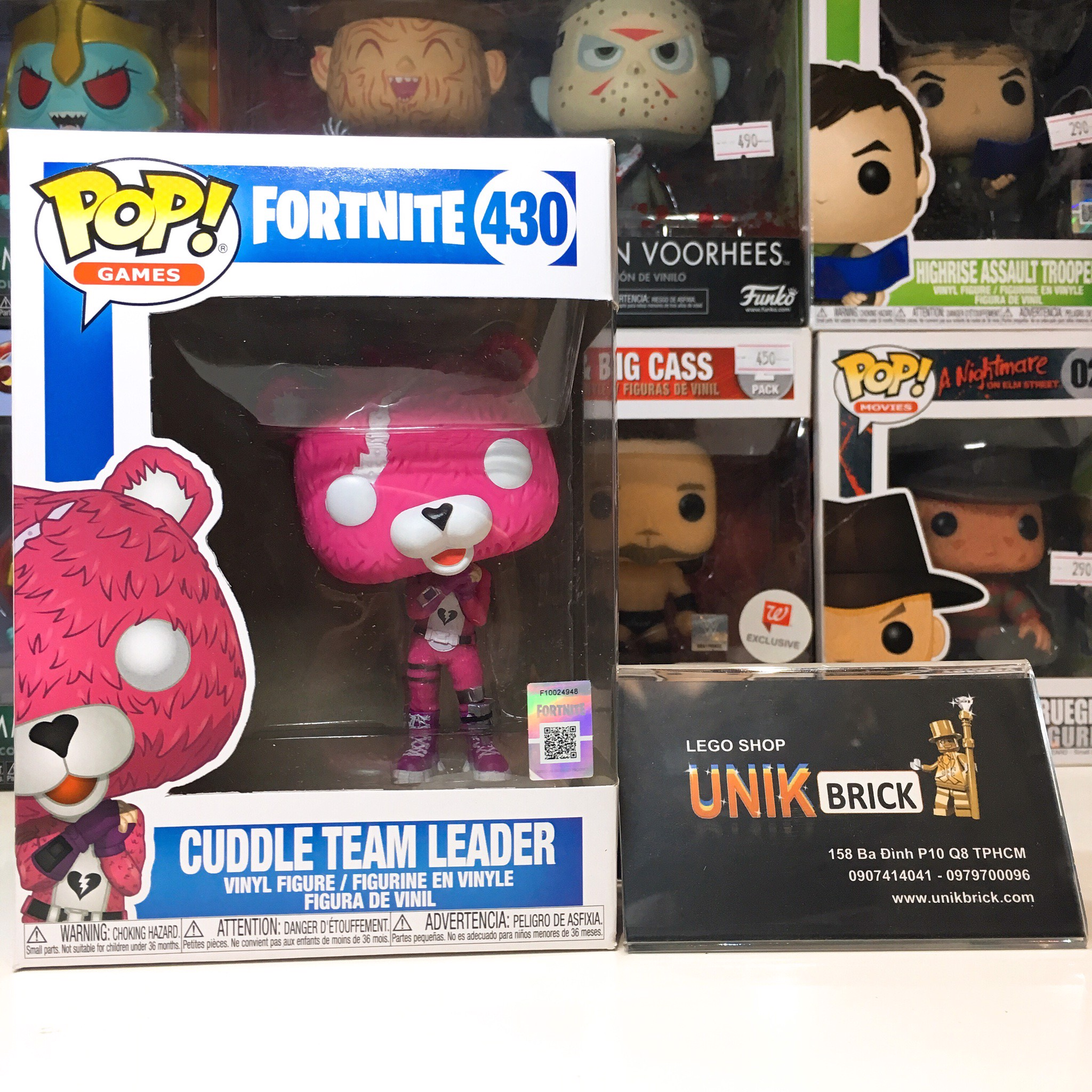 FUNKO POP Fortnite 430 Cuddle Team Leader