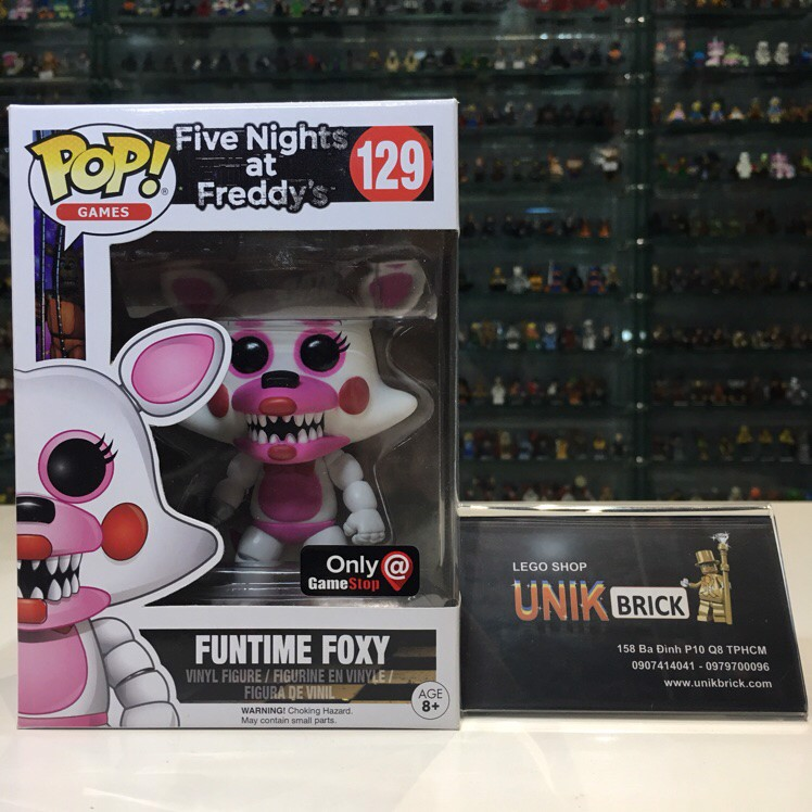 FUNKO POP Five Nights at Freddy's 129 Funtime Foxy