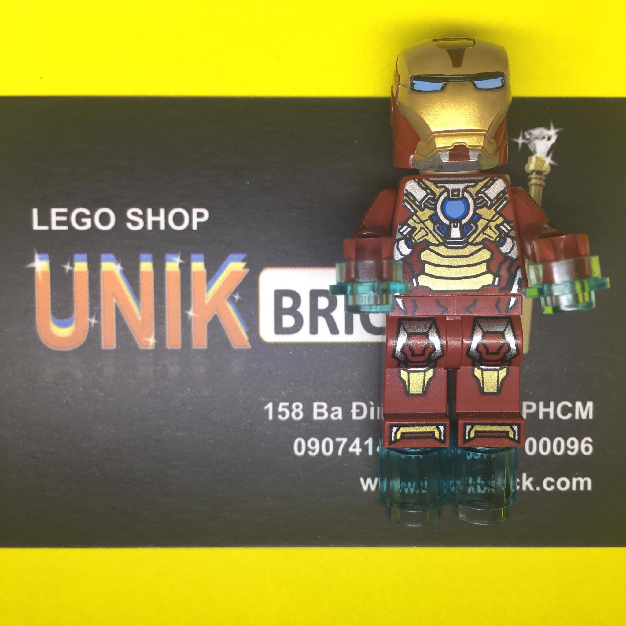 LEGO Marvel Iron Man Heart Breaker