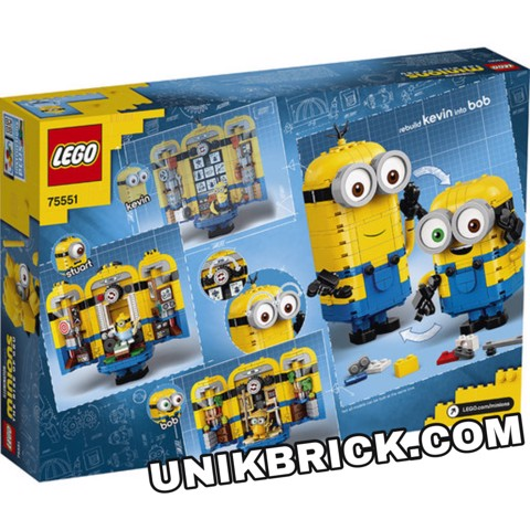 [HÀNG ĐẶT/ORDER] LEGO 75551 Minions Brick built Minions and their Lair