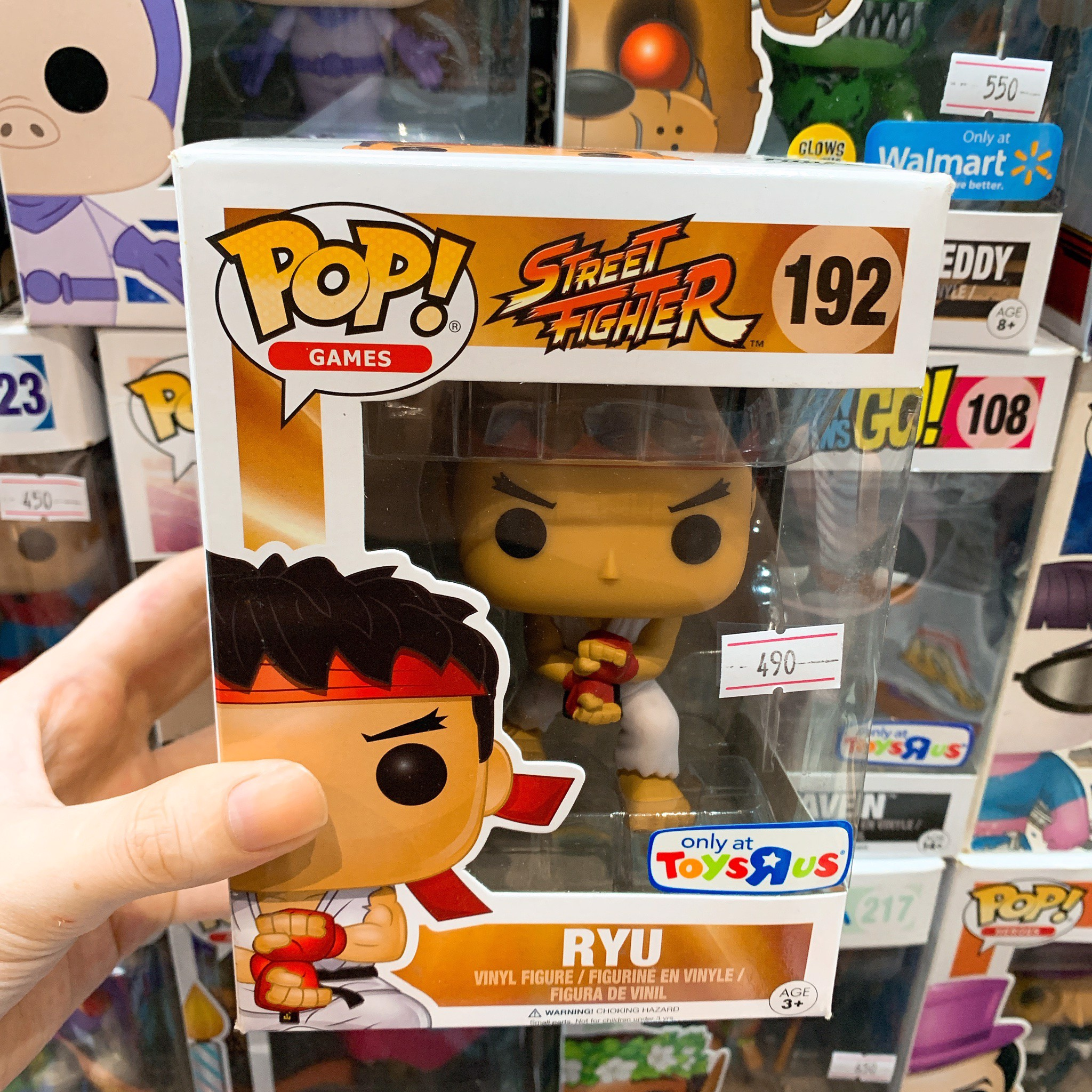 [CÓ SẴN] FUNKO POP 192 Street Fighter RYU