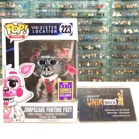 FUNKO POP Five Nights at Freddy's 223 Jumpscare Funtime Foxy