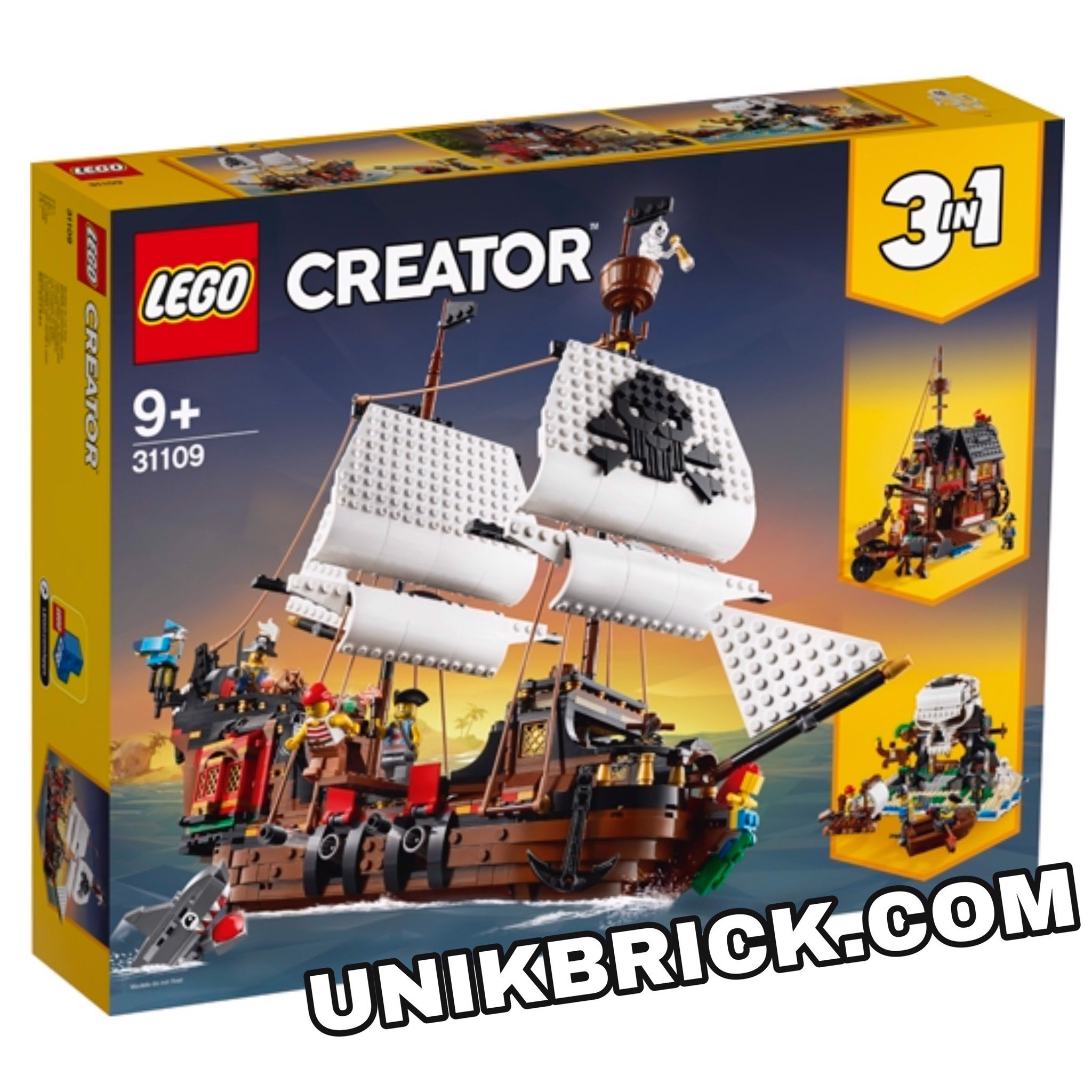 [HÀNG ĐẶT/ ORDER] LEGO Creator 31109 Pirate Ship 3 IN 1