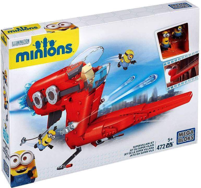 Mega Bloks Despicable Me Supervillain Jet