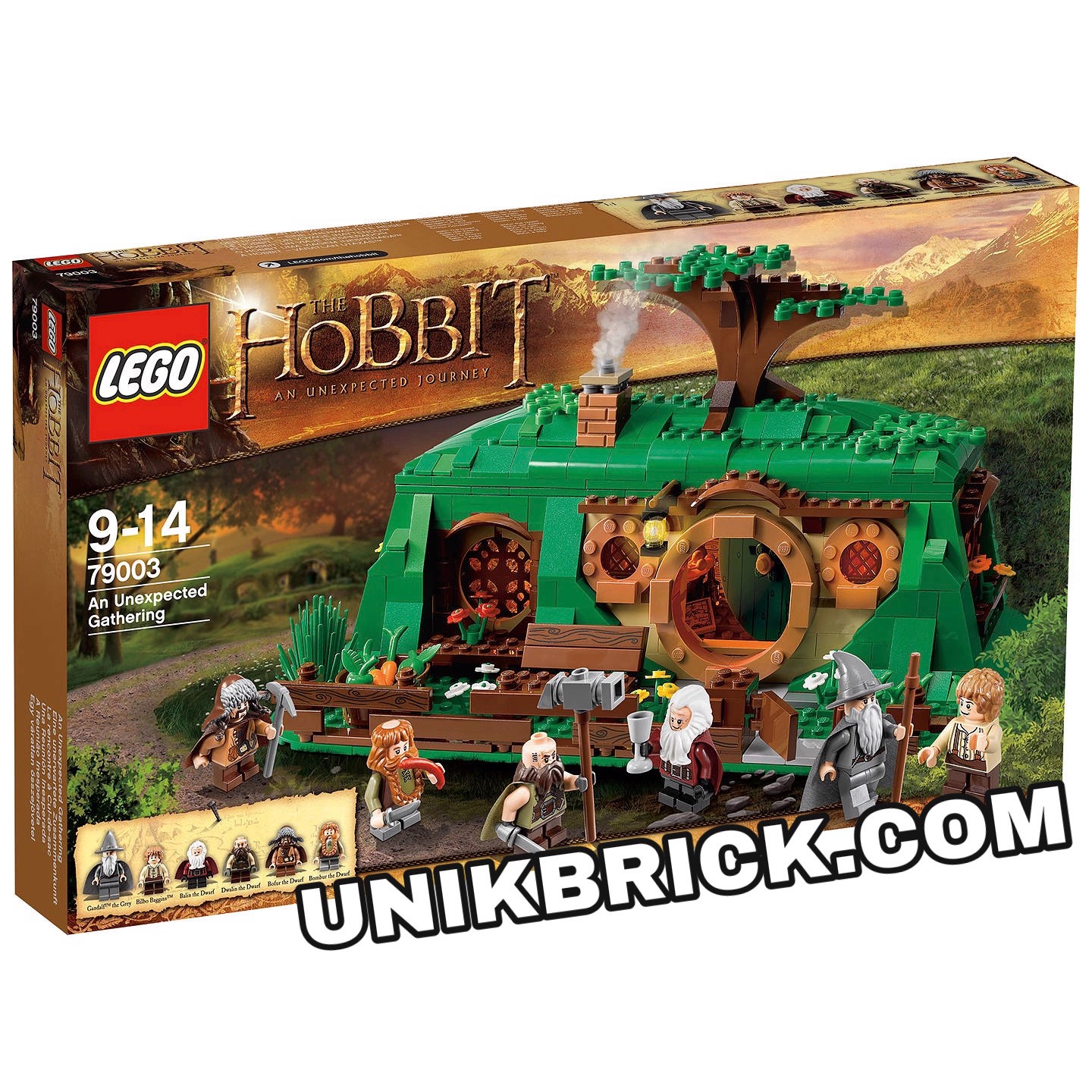 [HÀNG ĐẶT/ ORDER] LEGO The Hobbit 79003 An Unexpected Gathering