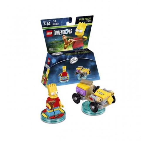 LEGO Dimensions 71211 The Simpsons Bart