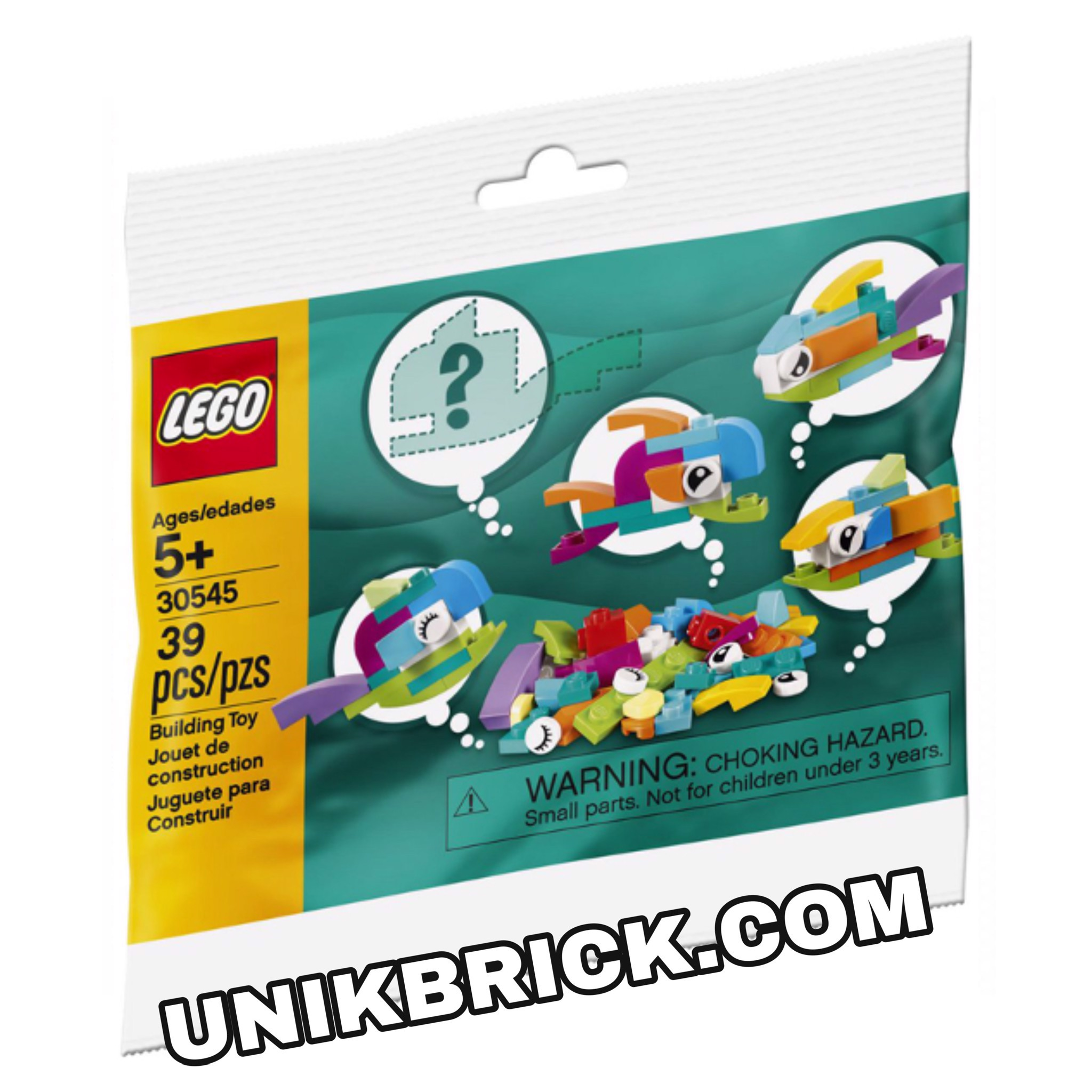 LEGO 30545 Fish Free Builds Polybag